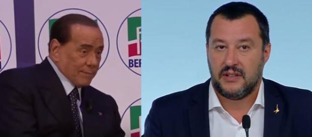 Berlusconi-Salvini il rapporto non sembra essere quello di un tempo