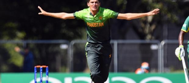 Pakistan v South Africa 1st ODI (Image via PTV sports screencap)