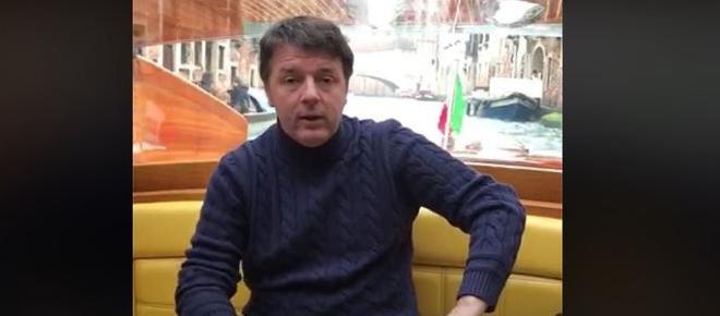 Renzi: 'Con noi il Pil era positivo, con Salvini e Di Maio torneremo in recessione' (VIDEO)