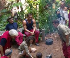 Dschungelcamp: Bei der Sauberkeit kennt Chris Töpperwien keinen Spaß