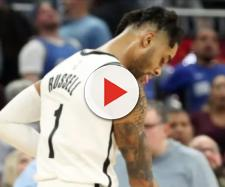 Brooklyn's D'Angelo Russell put up 40 points in a win on Friday (Jan. 18). [Image via NBA/YouTube screencap]