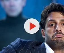 Fabrizio Corona, perde un dente in tv