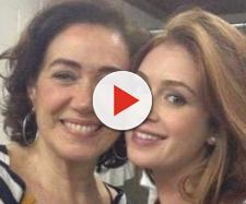 Lília cabral dá bronca em Marina Ruy Barbosa por conta de atraso - Foto/Reprodução