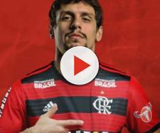 Rodrigo Caio deve ser titular na estreia do carioca. (Reprodução: mídias sociais do Flamengo)