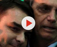 Situação de Flávio Bolsonaro pode desencadear crise no governo do pai, Jair Blsonaro. Foto: Ricardo Moraes / Reuter