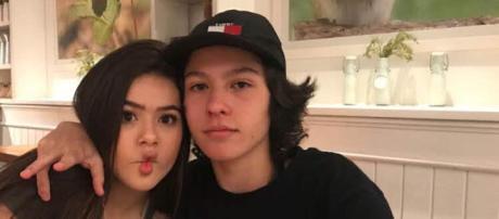 Maisa e Thomas namoram há mais de um ano (Reprodução: Twitter)