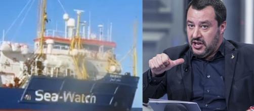 La nave Sea Watch ed il ministro Salvini