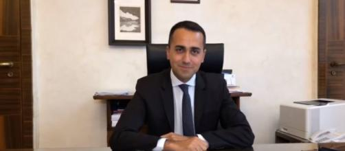 Luigi Di Maio, ministro del Lavoro e dello Sviluppo Economico