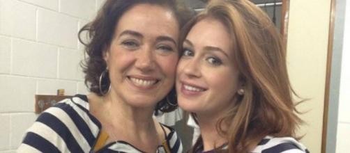 Marina Ruy Barbosa e Lilia Cabral (Reprodução Extra)