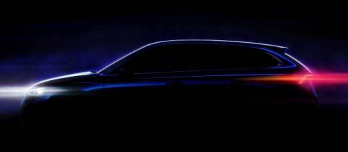 Teaser di un modello Skoda, la casa ceca ha un'importante auto da lanciare nel 2019.