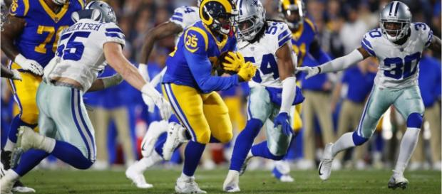 C.J. Anderson has become one of the Rams most explosive offensive weapons. [Image Credit: Wochit Entertainment - YouTube]