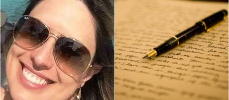 Médica deixa carta emocionante (Reprodução Facebook Larissa Medeiros)