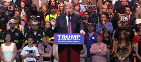 President Trump will soon be hitting the campaign trail again. [Image via West Virginia Public Broadcasting/YouTube]