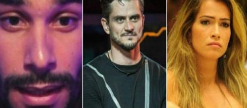 Daniel Echaniz, Marcos Harter e Fani Pacheco estão entre os ex-BBBs esquecidos pela Globo (Foto: Divulgação Globo/UOL)