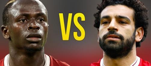 Mané e Salah (Imagem via Youtube)