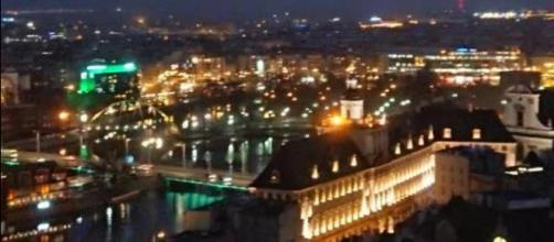 Wroclaw by night - Picture by David Adair