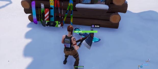 driftboard is coming to fortnite image source game screenshot - fortnite driftboard