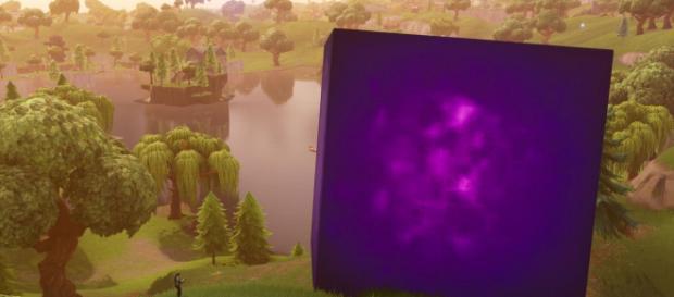 The cube is back! - [Epic Games / Fortnite screencap]