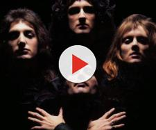 I Queen in una sequenza del video di Bohemian Rhapsody
