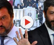 Matteo Salvini ed il Presidente Roberto Fico