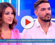 Rosa Perrotta e Pietro Tartaglione, l'ex tronista ha annunciato di essere incinta a Domenica Live