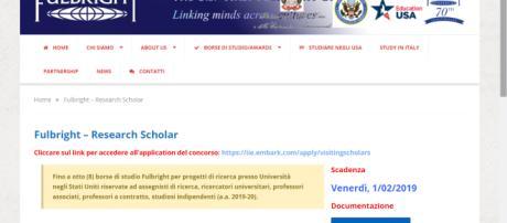 Borse di studio in Usa, scadenza bando 01/02/2019