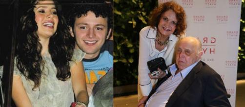 Casais de famosos que estão há muito tempo juntos (Reprodução Gshow/Instagram)