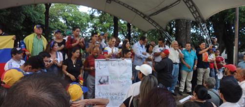 Inicio del cabildo en San Antonio del Táchira Venezuela