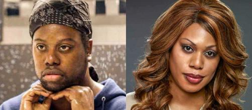 Laverne Cox, da série Orange Is the New Black, é transexual (Foto: East News)