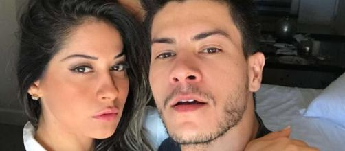 Mayra Cardi e Arthur Aguiar foram assaltados (Reprodução Instagram Arthur Aguiar)