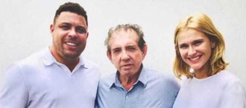 Ronaldo já se encontrou com João de Deus. (Reprodução: Instagram)