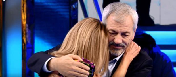 Ana Obregón rompe en llanto en el programa 'Volverte a ver' (Mediaset)