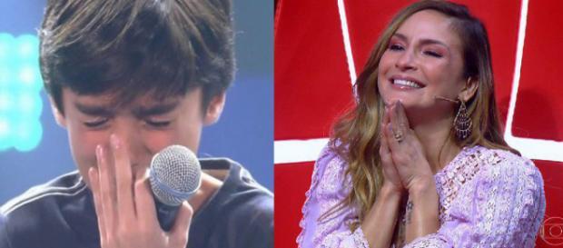 láudia Leitte no The Voice Kids (Foto - Divulgação/TV Globo)