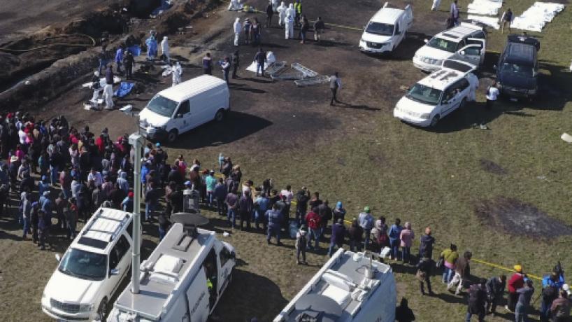 Comunidad internacional envió condolencias a México por explosión en Hidalgo