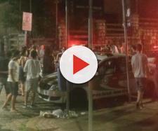 Confusão no Centro de Florianópolis (Cartas na Rua/Divulgação)