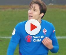 Federico Chiesa, giocatore della Fiorentina