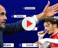 La possibile Inter con Mesut Ozil