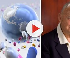 Prof. Federico Maria Arcamone, ricercatore italiano protagonista della ricerca farmaceutica mondiale del XX secolo.