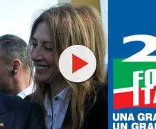 Silvio Berlusconi assieme alla candidata Daniela Noli.