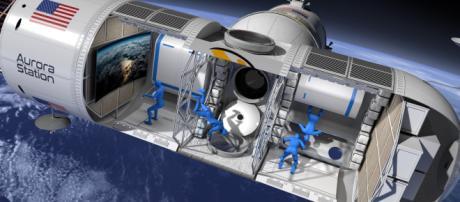La Estación Aurora será el primer hotel de lujo en el espacio