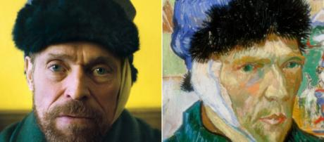 Willem Dafoe en su multinominada y premiada interpretación de Vincent Van Gogh
