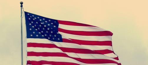 An American flag, often associated with U.S. politicians. [Image via DWilliams - Pixabay]
