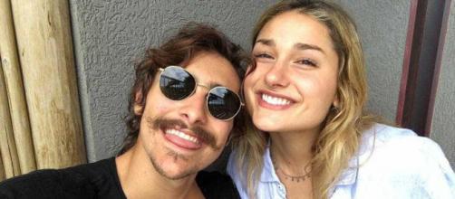 Bruno e Sasha foram à praia (Reprodução Instagram Bruno Montaleone)