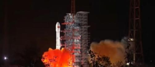 China's moon landing sets stage for space race. [Image source/CBS This Morning YouTube video]