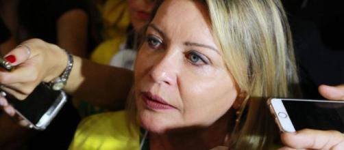 Ex-juíza Selma Arruda, a 'Moro de saias', se expressou em defesa de Flávio Bolsonaro (Foto: João Vieira/Agência Brasil)