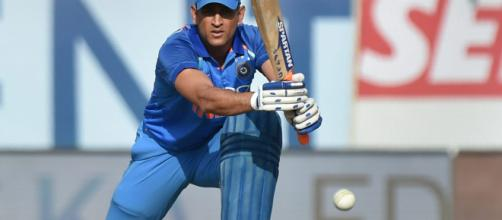 MS Dhoni geared up for the New Zealand series (Image via ICC/Youtube screencap)
