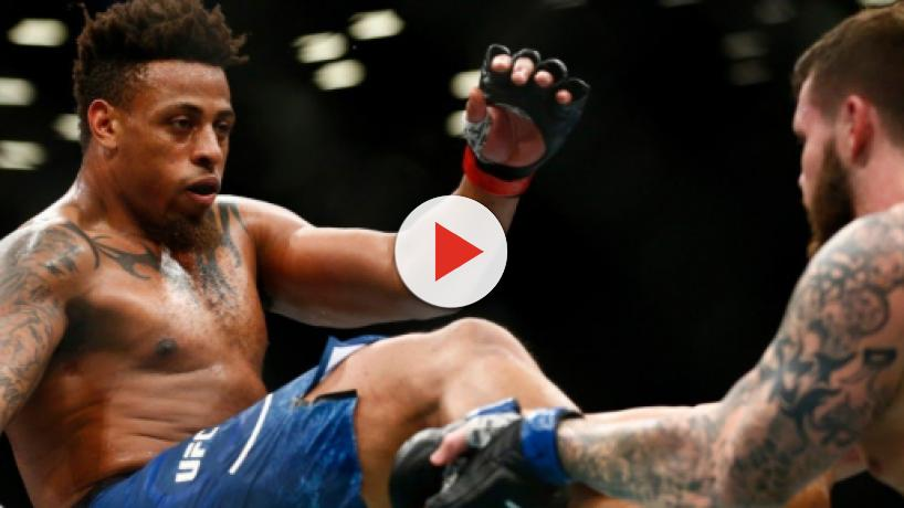 Greg Hardy earns disqualification at UFC Brooklyn