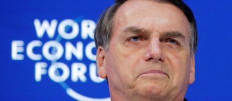 Em discurso em Davos, Bolsonaro promete governar pelo exemplo. (Foto: Arnd Wiegmann/Reuters)