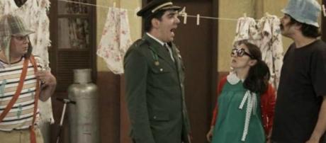 Imitação de Adnet foi reprovada por Grupo Chesperito. (Reprodução/TV Globo)