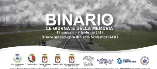 """Binario 21"""", un progetto sull'Olocausto: a Bari dal 19 gennaio al 9 febbraio"""